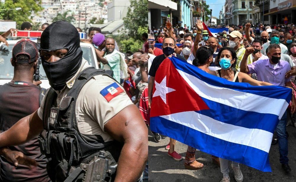 Magnicidio, protestas, apagones y censura: las crisis que golpean a los países del Caribe