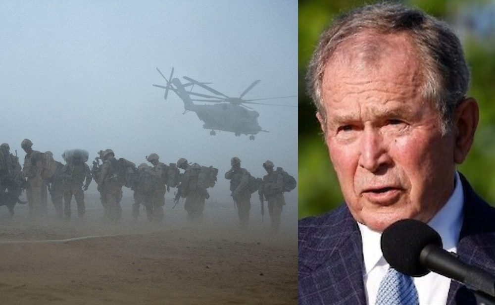 George W. Bush critica decisión de retirar tropas de Afganistán