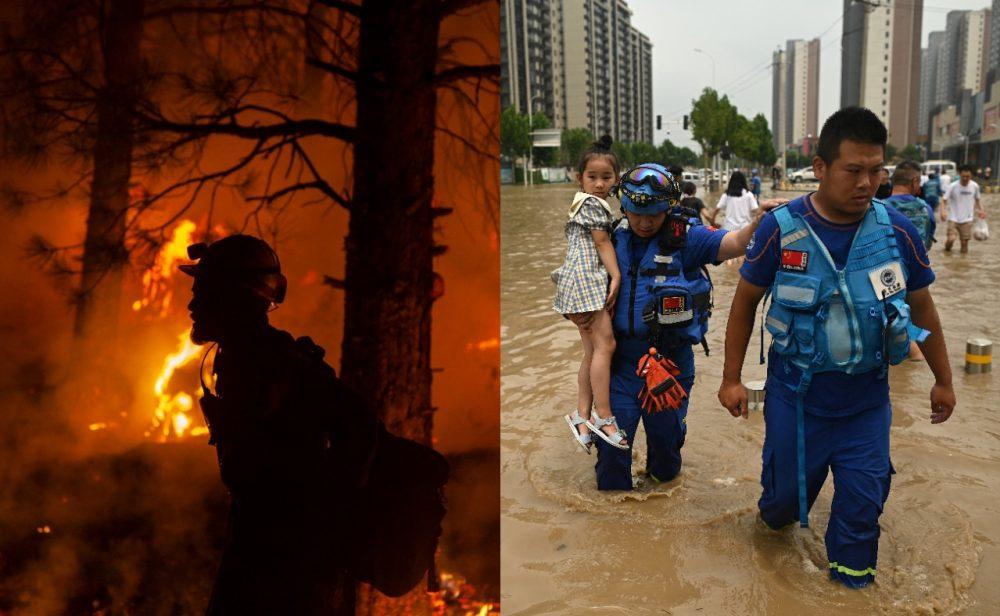 Cambio climático: inundaciones, incendios y temperaturas récord retratan una crisis ambiental que no da espera