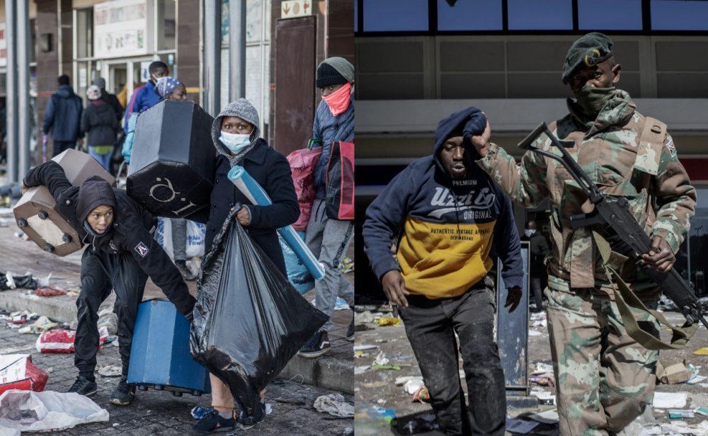Cinco claves para entender las protestas y disturbios en Sudáfrica