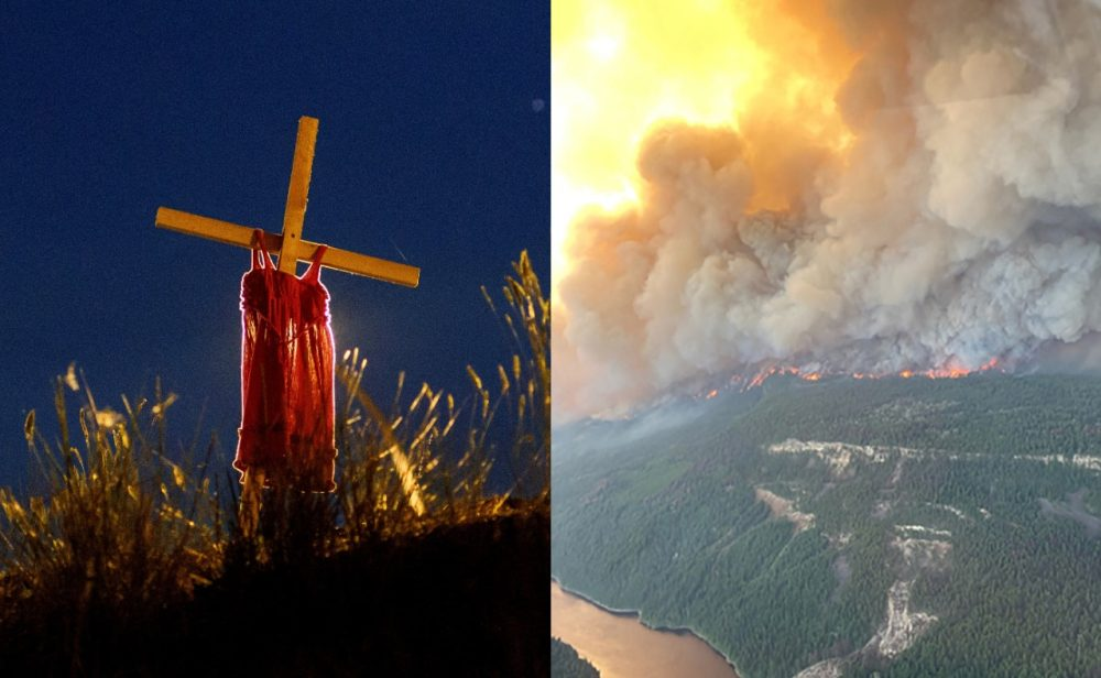 Arde Canadá: ola de calor, incendios forestales e iglesias en llamas azotan al país