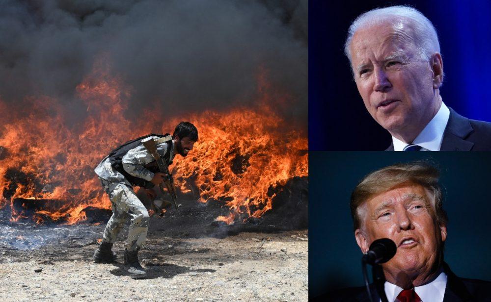 ¿A merced de los talibanes? Biden ya retiró al 90 por ciento de las tropas estadounidenses en Afganistán