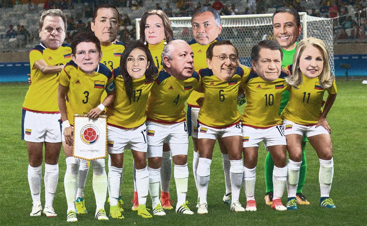Fútbol colombiano y poder