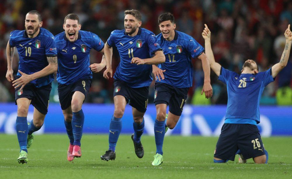 Italia está en la final de la Eurocopa: le ganó a España por penales