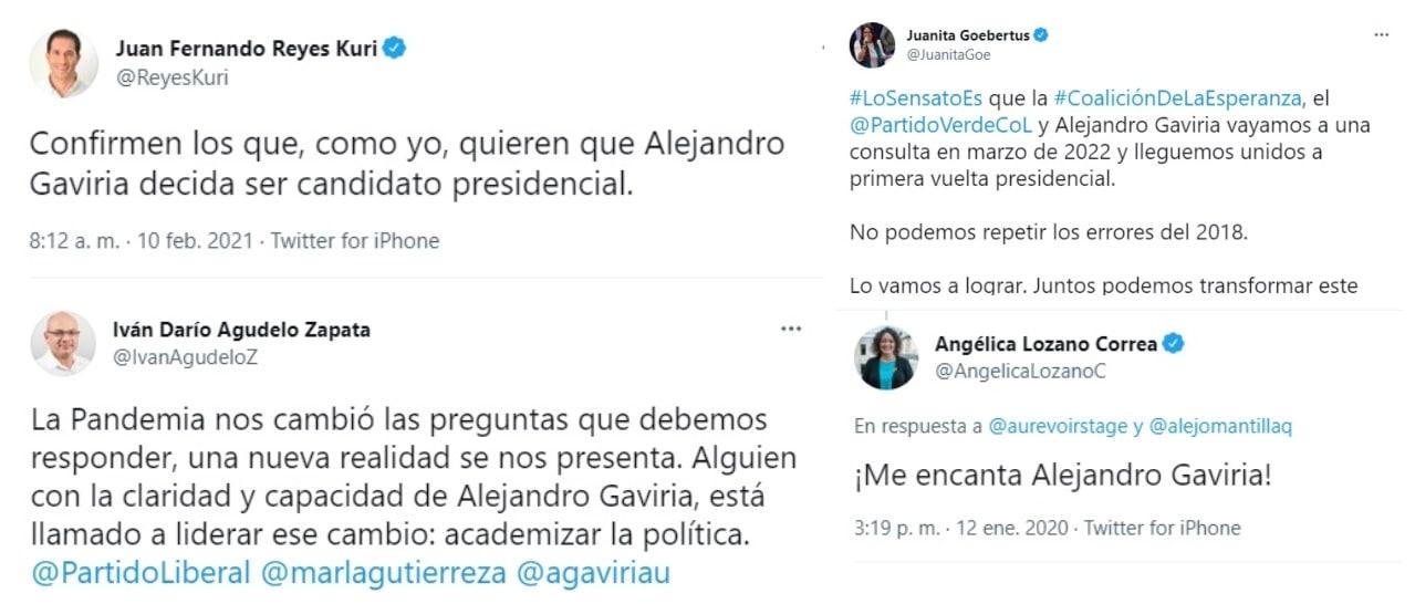 Los coqueteos del Partido Liberal y la Alianza Verde a Alejandro Gaviria