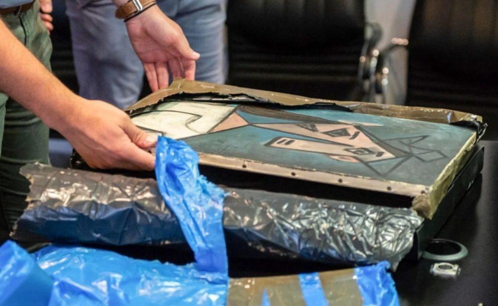 Del Picasso recuperado en Grecia y otras obras de arte rescatadas