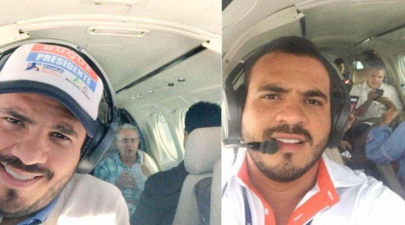 Samuel Niño, piloto que transportó en 2018 a Iván Duque y Álvaro Uribe