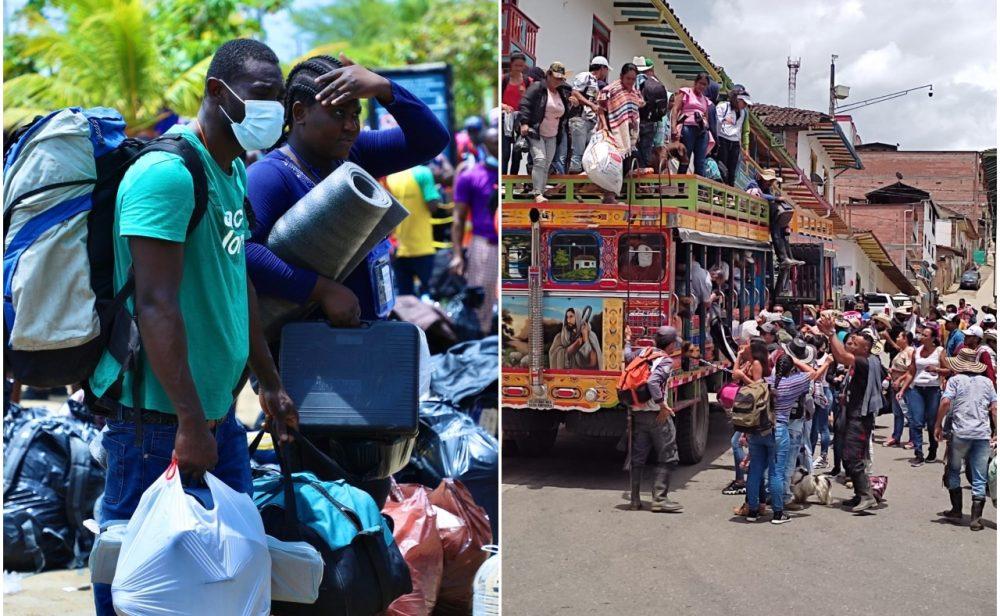 Cuatro crisis humanitarias en Colombia, tragedias que se repiten