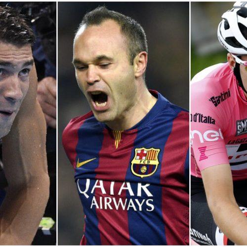 Phelps, Iniesta, Dumoulin y otros deportistas de alto nivel que han tenido problemas de salud mental