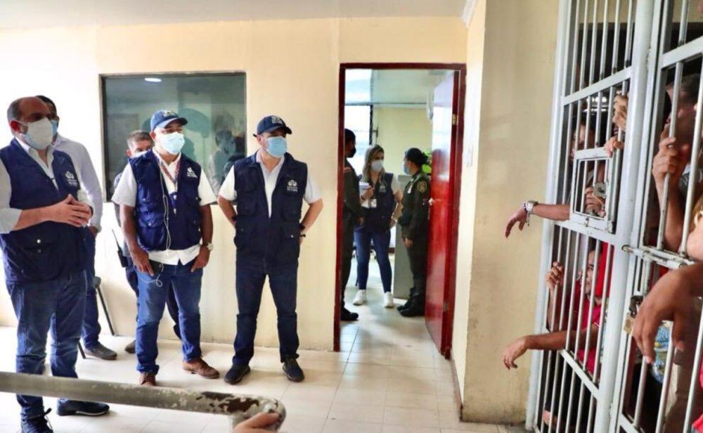 Hacinamiento en centros de detención de Cartagena, muestra de un problema nacional