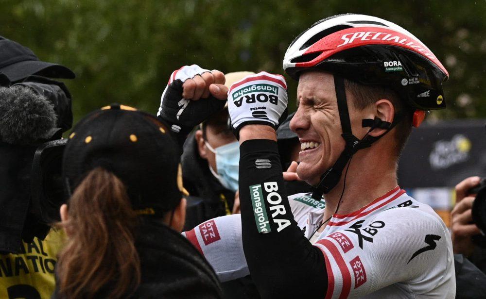 Tour de Francia: Konrad ganó la etapa 16, los favoritos se guardaron para mañana
