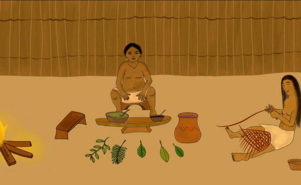 'El origen de la coca', el corto animado hecho por los indígenas en la selva colombiana