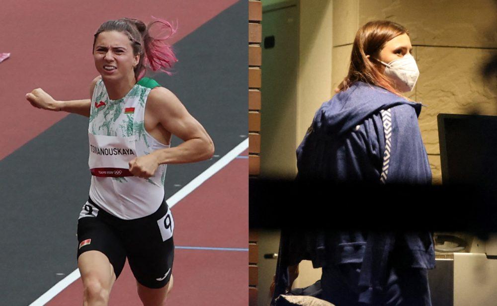 Krystsina Tsimanóuskaya, la atleta bielorrusa que no quiso volver a su país por miedo a ser arrestada