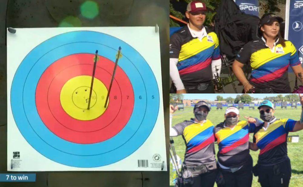 Colombia ganó dos medallas de oro en el Campeonato Mundial de Tiro con Arco
