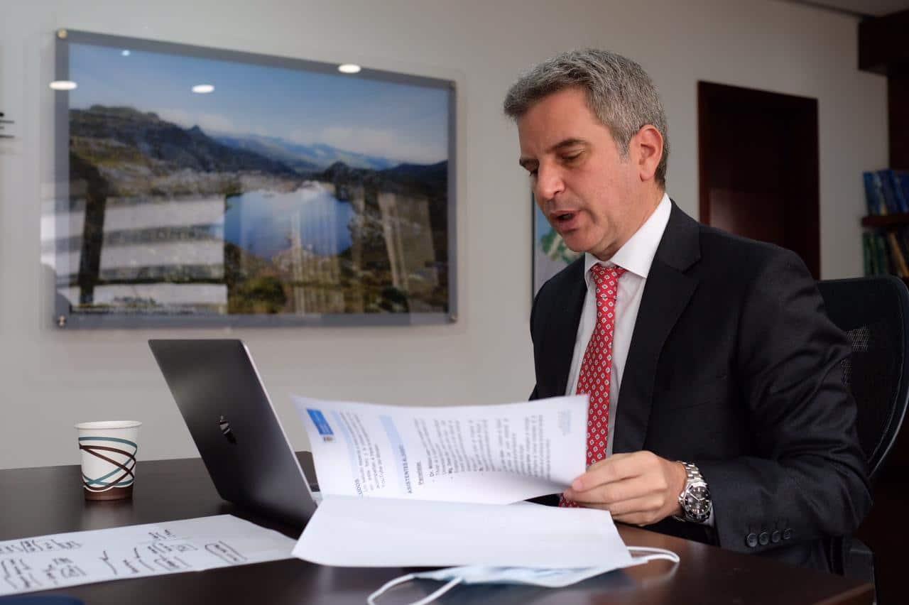 Carlos Correa, ministro de Ambiente