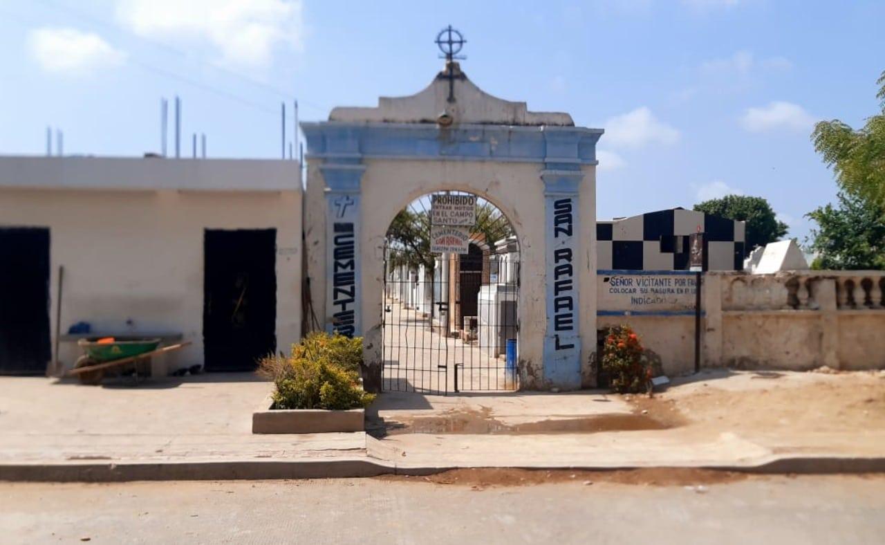 cementerio de ciénaga, Colombia.