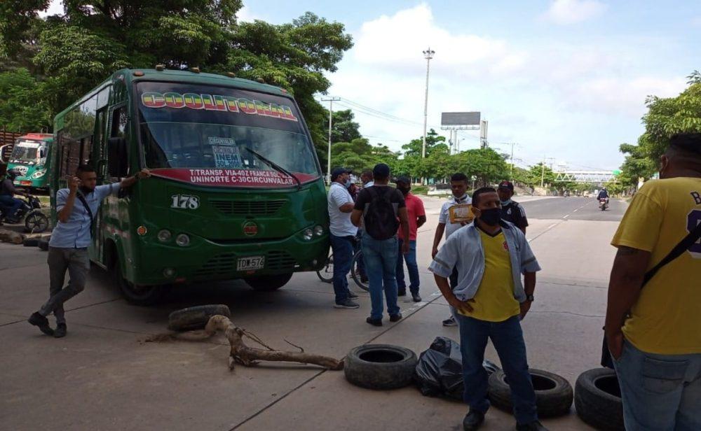 Extorsiones y violencia en Barranquilla: hasta 300 millones de pesos piden a empresas de buses (II)