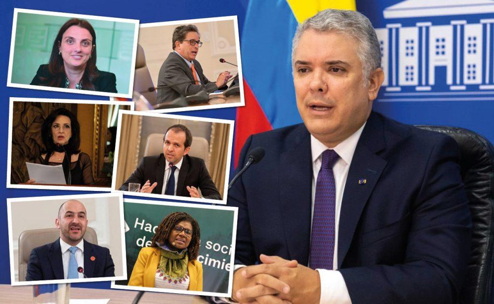 Con Abudinen ya van seis ministros que se le funden a Duque en lo que va del año