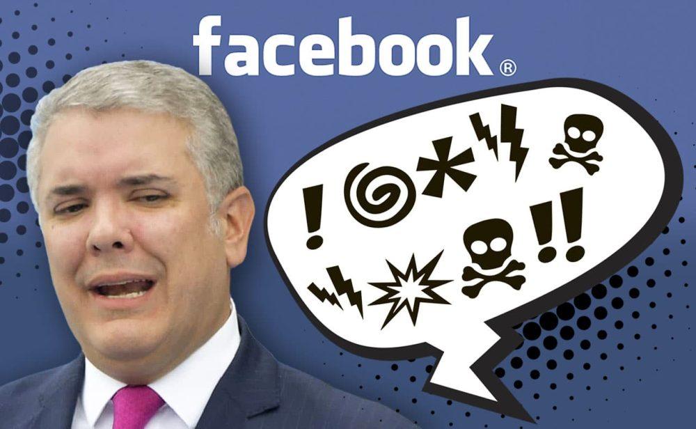 """¿Se le puede decir """"marica"""" a Duque? Los pormenores de una decisión que debería cumplir Facebook"""