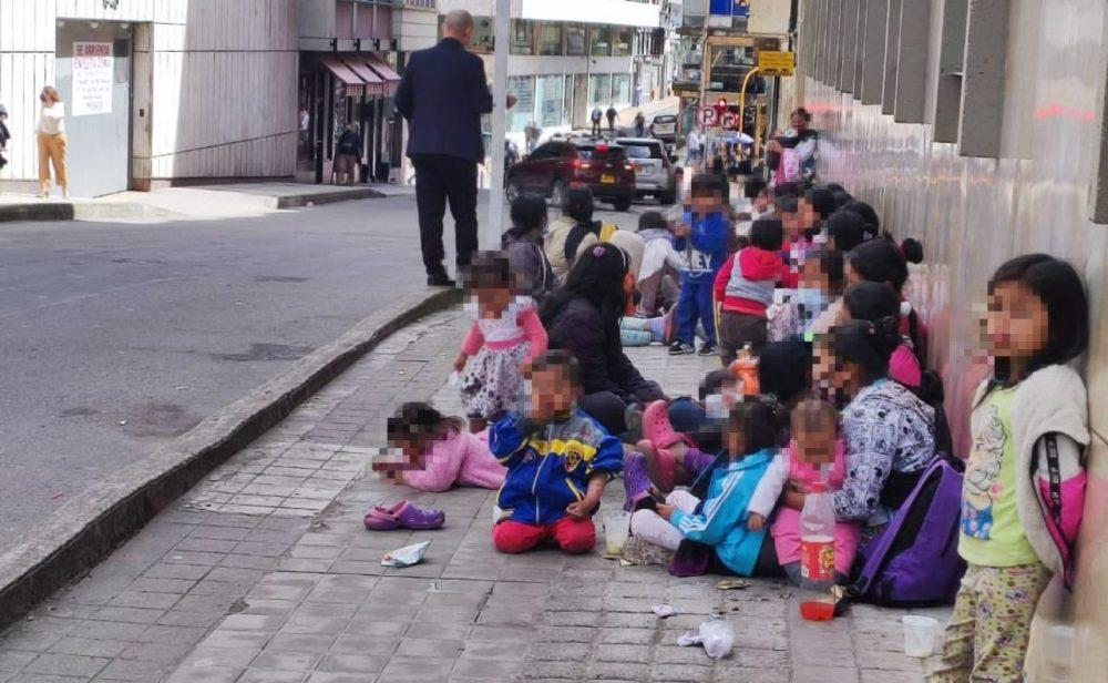 El drama que viven los embera en Bogotá y Dabeiba