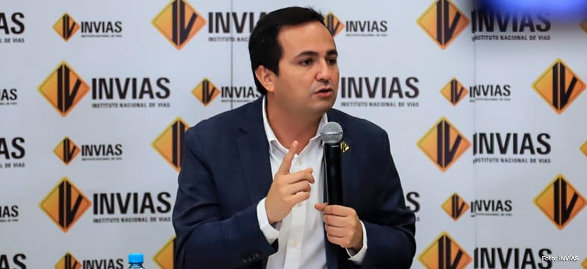 Juan Esteban Gil, director del Invías