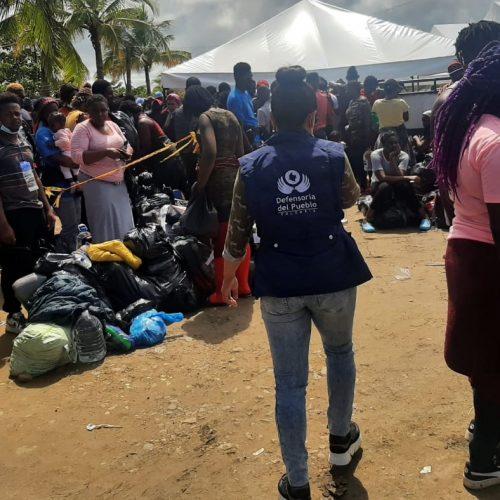 Se dispara la alerta sanitaria por migrantes en Necoclí