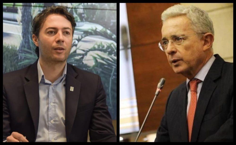 Agarrón tuitero entre Álvaro Uribe y Daniel Quintero, pelea entre 'guapos'