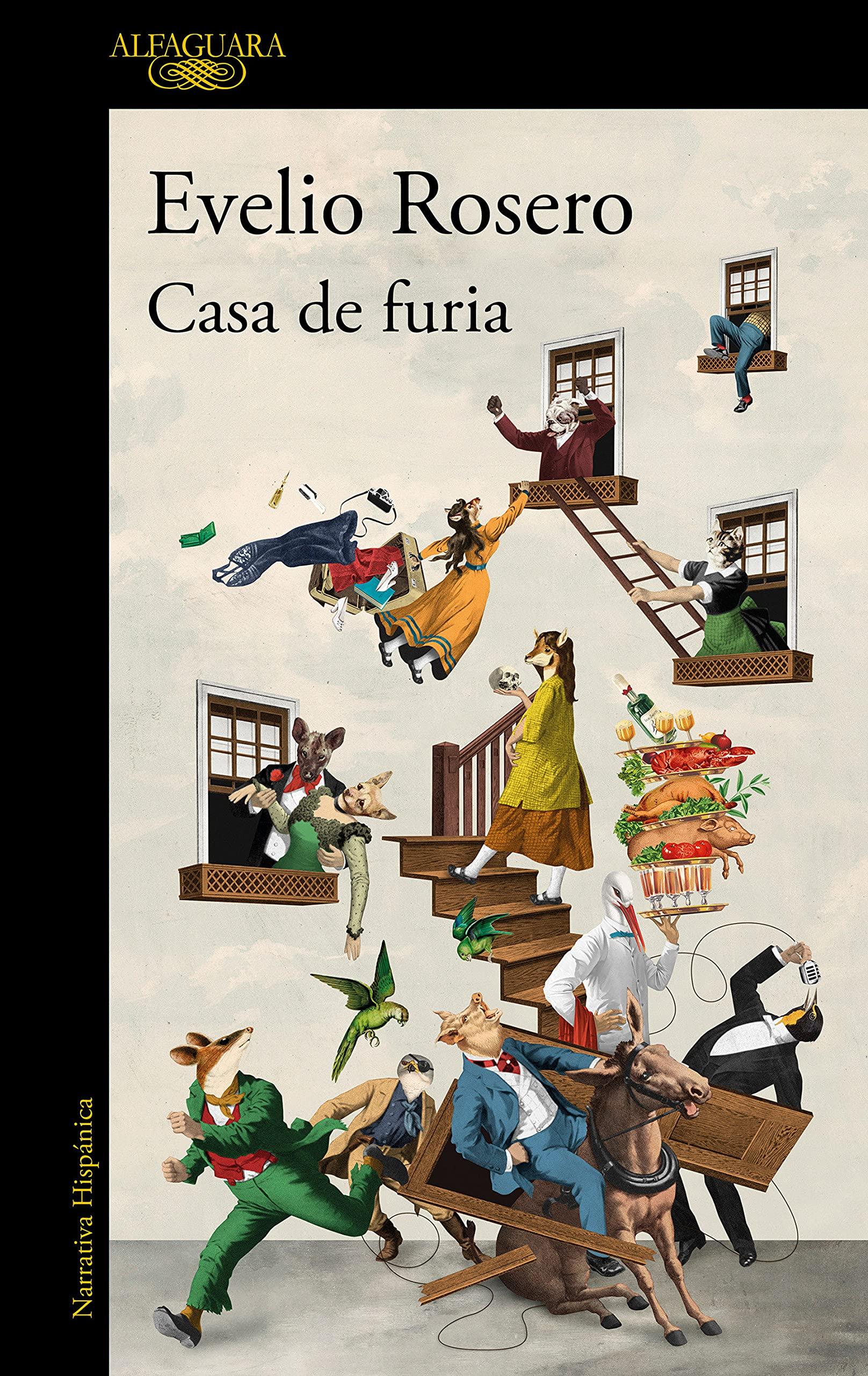 Casa de furia, novela de Evelio José Rosero