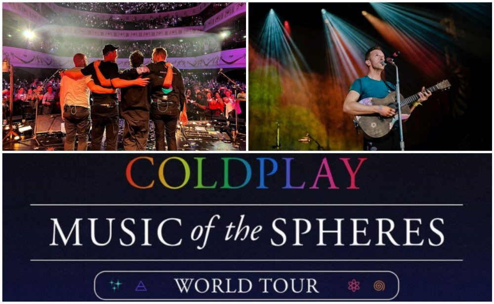 ¿Una gira musical eco-amigable? Estos son los planes de Coldplay para 2022