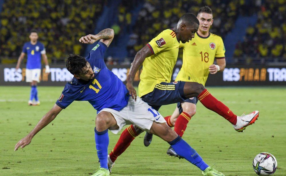 Colombia y Brasil empatan en gran partido