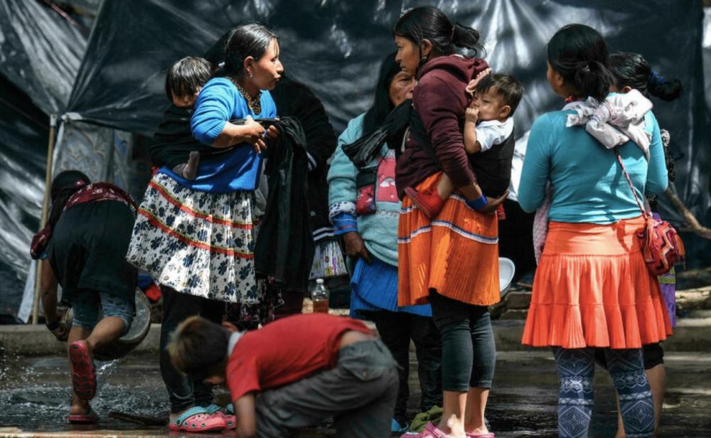 La interminable crisis humanitaria de la comunidad Embera en Bogotá
