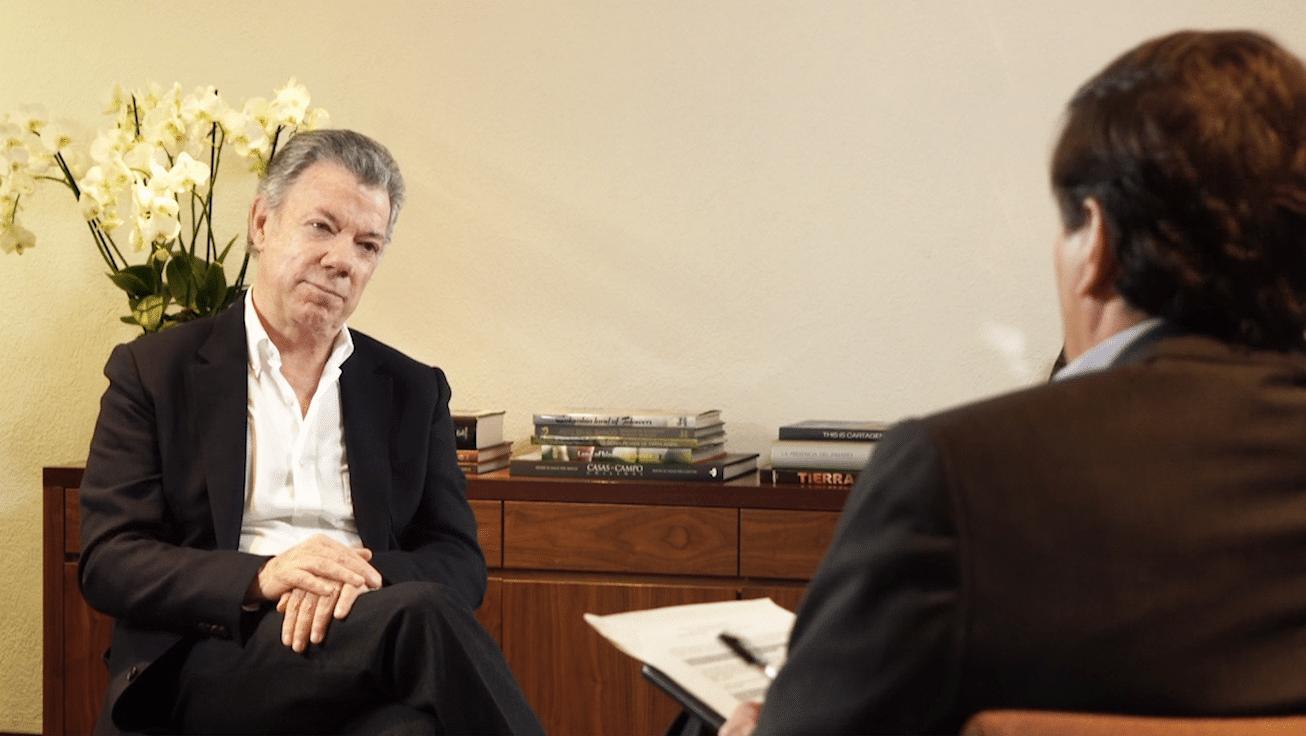 Entrevista con Juan Manuel Santos