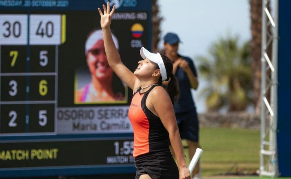 A la final: María Camila Osorio sigue imparable en el WTA 250 de Tenerife