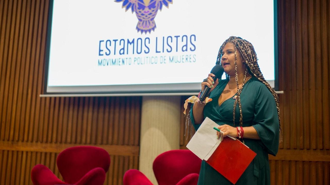 Marta Restrepo, integrante de la Dirección Nacional de Estamos Listas