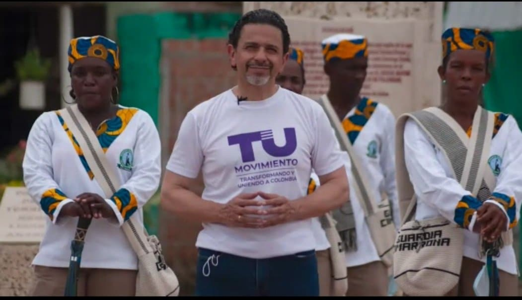 Con el movimiento Tu, Miguel Ceballos busca representar todas las regiones del país.
