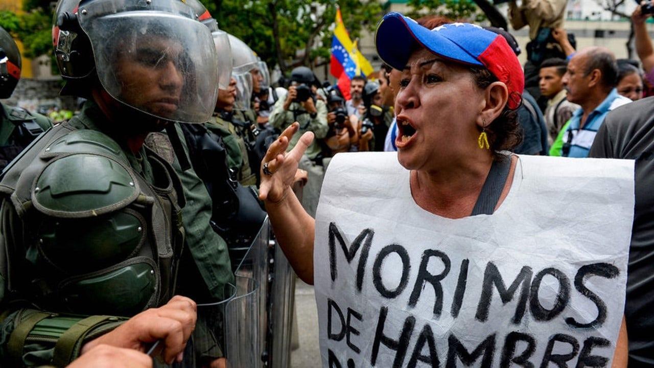 Morimos de hambre en Venezuela
