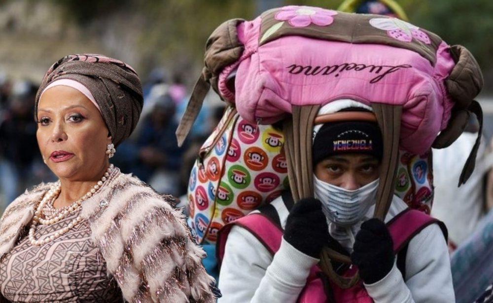Piedad Córdoba y su fantasiosa imagen de Venezuela