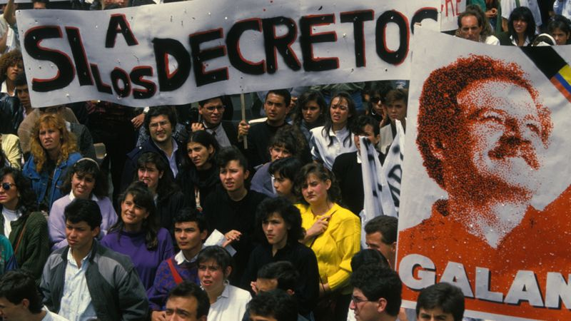 En 1990 los jóvenes participaron de forma activa en la Séptima Papeleta