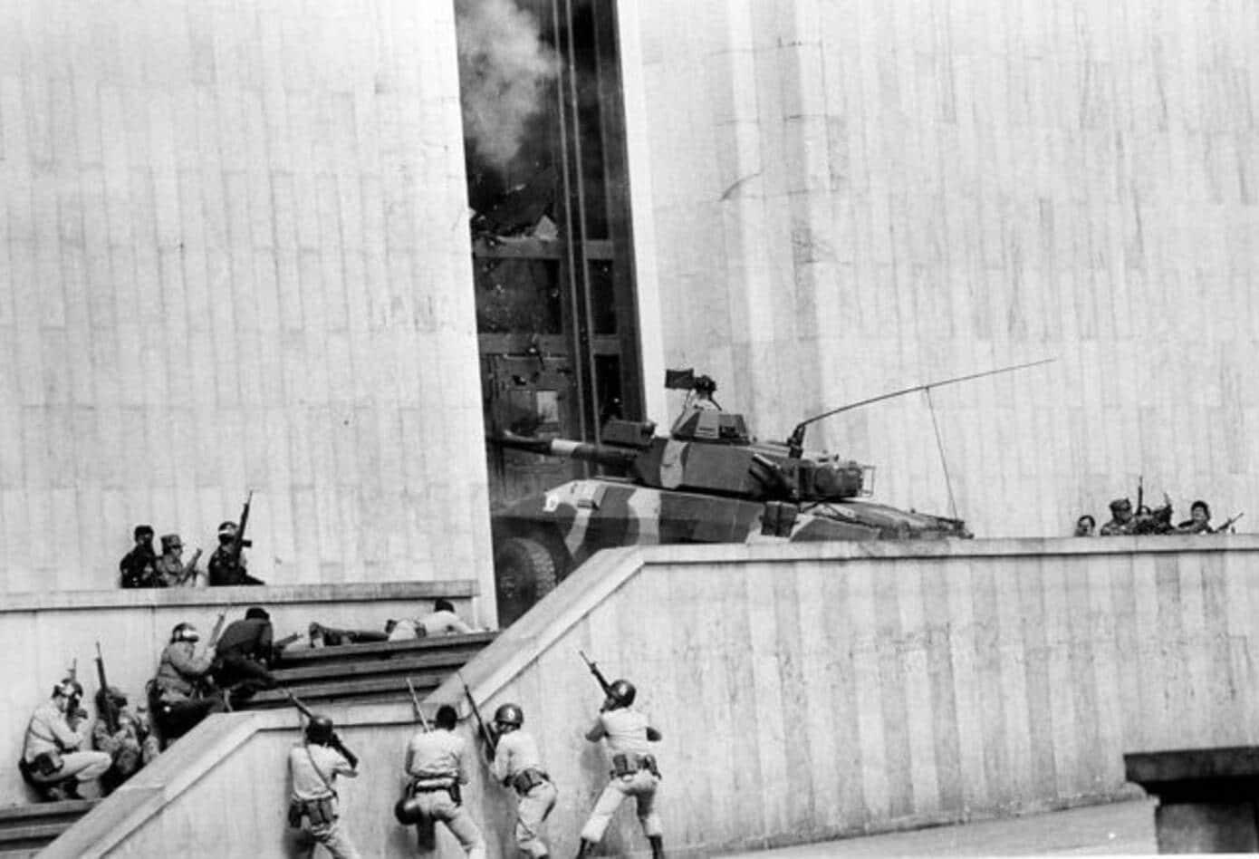 Toma del Palacio de Justicia, noviembre de 1985