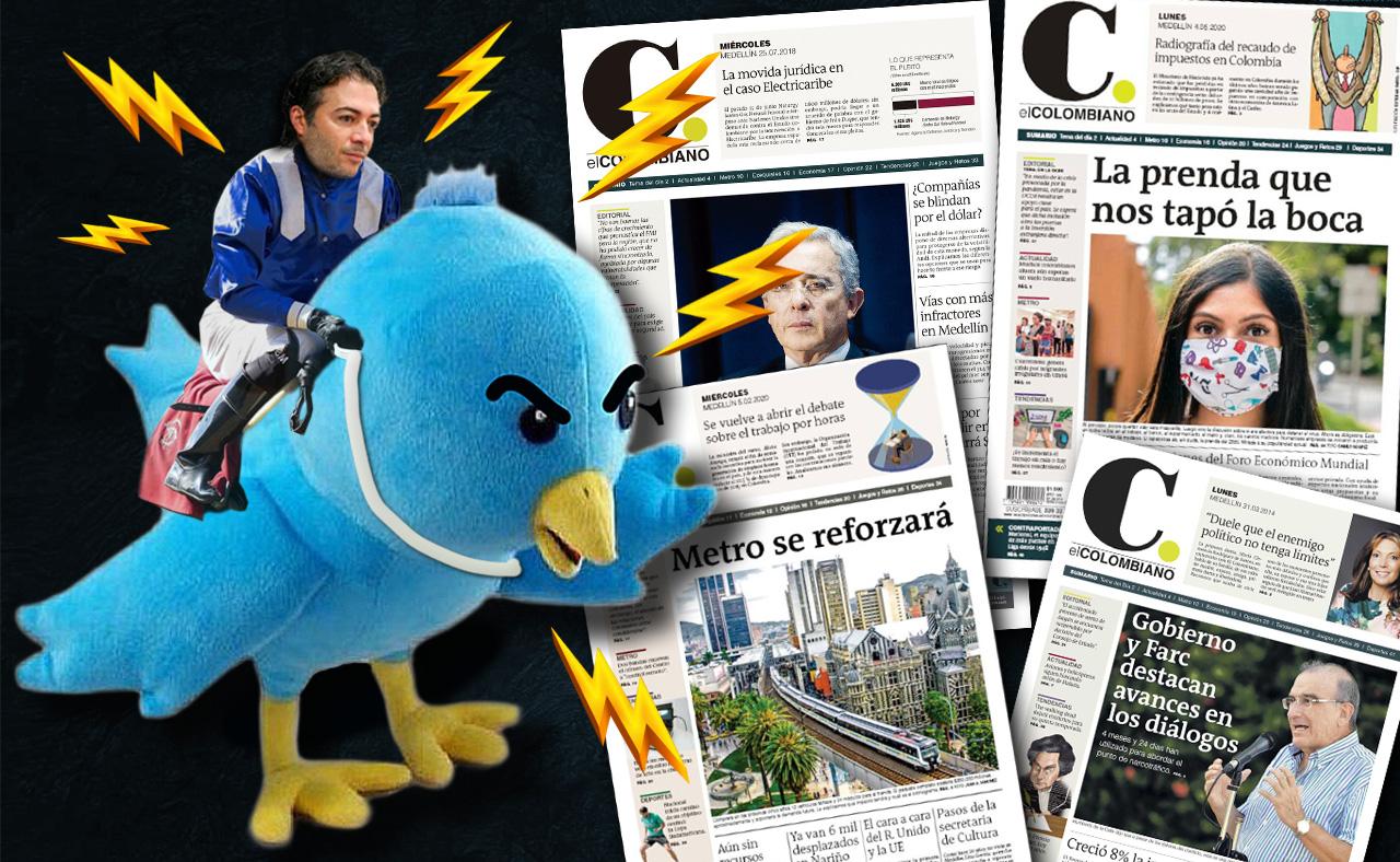 Quintero vs. 'El Colombiano': una batalla más allá de Twitter y los titulares